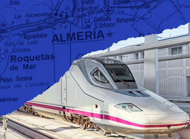 Se retrasa dos años la llegada del AVE a Almería